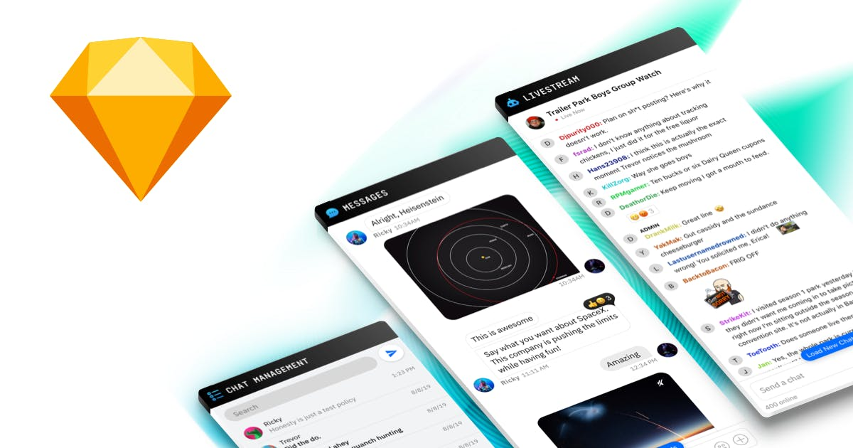 Chat UI Kit - Messaging Interface Design