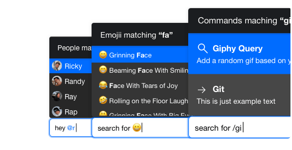 Chat Message Composer